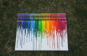 Crayon de fusión arte