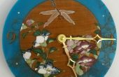 Con láser libélula y reloj de flores (con detalle épico)