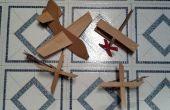 La fuerza aérea de cartón