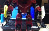 3D Robot humanoide impresa para menores 1000,00 USD