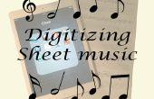 Digitalización de partituras para ipad