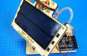 Las Naciones Unidas seguidor-solar Solar Simple que Tiene Ejes Duales