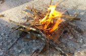 3 maneras diferentes para encender el fuego