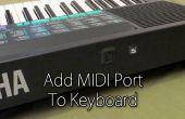 Agregar el puerto MIDI al teclado