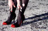 Personalizar los zapatos con pintura en aerosol y Sugru