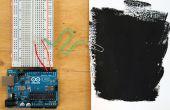 Construcción de un Sensor capacitivo de proximidad utilizando pintura desnudo