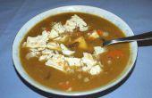 Cómo hacer guisantes y jamón sopa, la forma mi mamá me enseñó