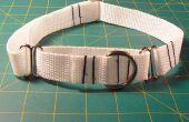 Cómo hacer un Collar de perro de martingala ajustable
