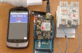 Confiable, seguro, control remoto de SMS personalizables (Arduino/pfodApp) - No codificación requerida