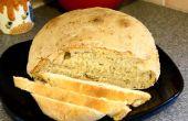 Cómo hacer un pan casero artesanal