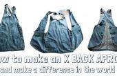 Hacer un delantal de trabajo X-back