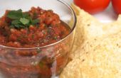 Salsa de tomate al horno de fuego