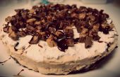 Cheesecake de Brownie de cacahuate