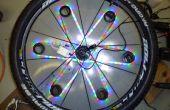Bicicleta seguridad ayuda prototipo: de luz dinámico 3D