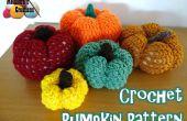Crochet patrones de calabaza