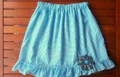 Volantes falda moña (azul)