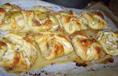 Manzana y queso Brie empanadas de mano