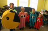 Pac Man y los disfraces de fantasmas