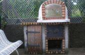 Cómo construir un bosque Portugués encendido horno de ladrillo Pizza