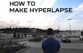 Cómo hacer hyperlapse