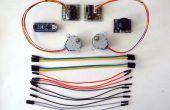Arduino Nano y Visuino: Control de 2 motores paso a paso con Joystick