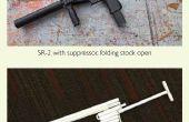 Cómo hacer papel de SR-2 arma que dispara
