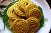 Murukku: Giros de sabrosos y crujientes de harina de arroz