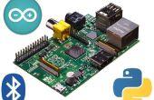 Frambuesa de Pi de Robot controlado por Bluetooth
