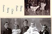 Restaurar foto de familia tarjetas