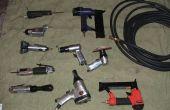 Compresor de aire integrado / soldador para vehículos