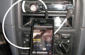 Controles de medios en línea de móvil para coche Audio