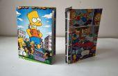 Bart Simpson libretas de material reciclado