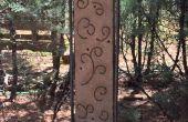 Jardín de Hypertufa casted arte