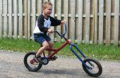 Bicicleta chopper de los cabritos de petardo de Atomic Zombie