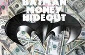 Avión de papel dinero escondite de BATMAN