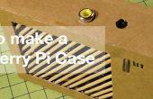 Modelar un caso de frambuesa Pi - de cartón