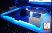 DIY cojín de ratón de brillar intensamente
