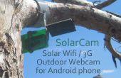 Hacer un Solar Wifi 3g Webcam de cámara al aire libre de un viejo teléfono Android!