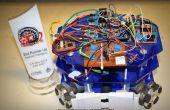 El campeón 4Omni rueda fútbol Robot!