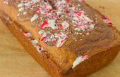 Bastón de caramelo de chocolate mantequilla de maní remolino pan