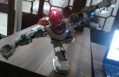 Hacer un robot humanoide de bajo costo de material de la tubería de agua de PVC (actualización)