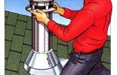 Cómo instalar un Kit de chimenea de Metal