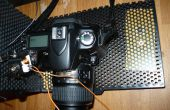 Disparador de cámara control remoto, con cable