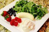 Batido de frutas Kale baya de vainilla libre de gluten