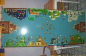 Super Mario Bros 3 cerveza Pong y mesa de Copa Flip