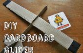 Planeador de cartón DIY