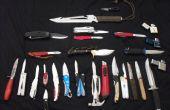 Cómo hacer un cuchillo de un viejo archivo