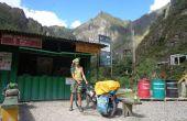 Alforjas bicicleta fácil en un país en desarrollo