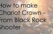 Carro corona - tirador de roca negra