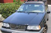 Fijar un reflector Faro suelto en un Volvo 850